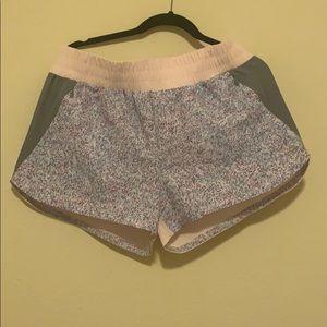 NWOT Gap Fit Pink & Gray Shorts